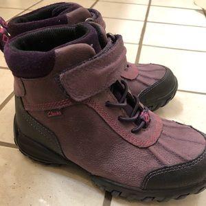 Girls Clark's boots